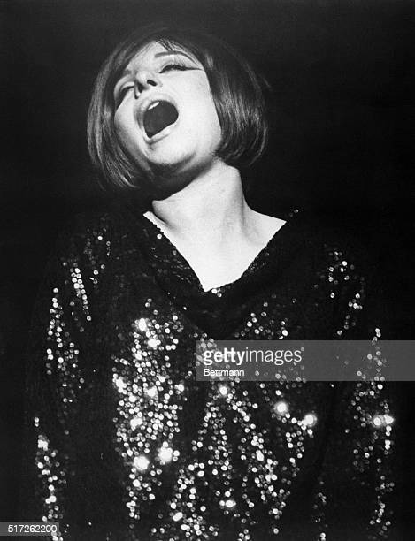 Barbra Streisand as Fanny Brice in the Broadway musical Funny Girl Undated photograph filed 5/18/1964