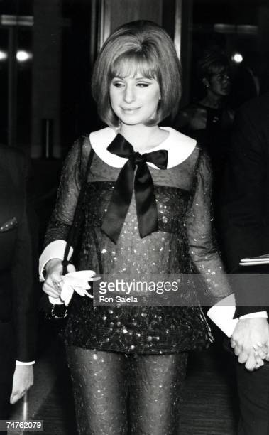 Barbra Streisand at the The Dorothy Chandler Pavillion in Los Angeles California