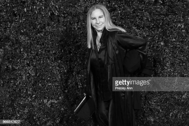 Barbra Streisand attends CHANEL Dinner Celebrating Our Majestic Oceans A Benefit For NRDC on June 2 2018 in Malibu California