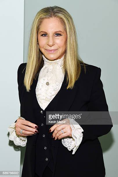 Barbra Streisand attends the 70th Annual Tony Awards at The Beacon Theatre on June 12 2016 in New York City