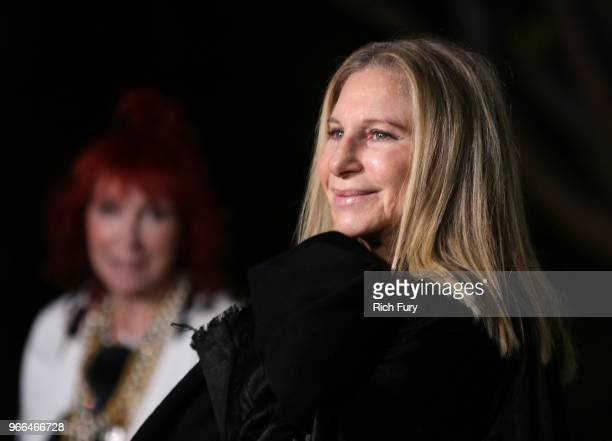 Barbra Streisand attends the CHANEL Dinner Celebrating Our Majestic Oceans A Benefit For NRDC on June 2 2018 in Malibu California
