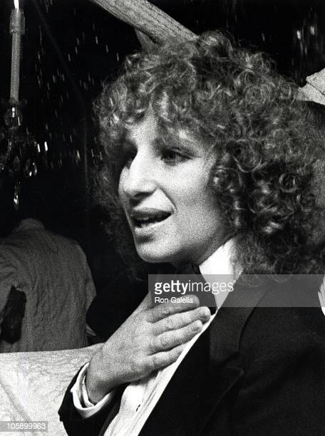 Barbra Streisand during 'A Star Is Born' New York City Premiere After Party at Tavern on the Green in New York City New York United States