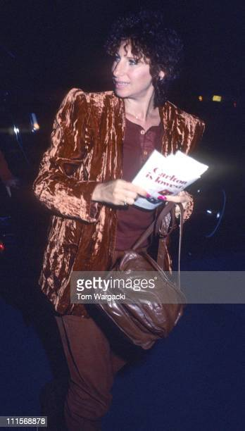 Barbra Streisand during Barbra Streisand Sighting in New York City September 9 1980 at Apollo Theatre in New York City United States