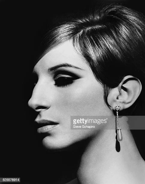 Barbra Streisand During the Filming of Funny Girl