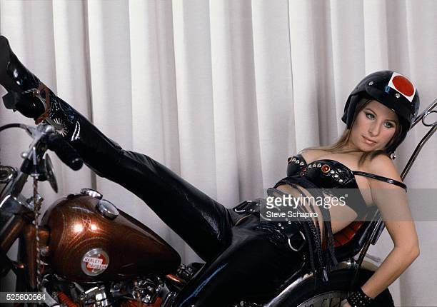 Barbra Streisand during the filming of The Owl and the Pussycat