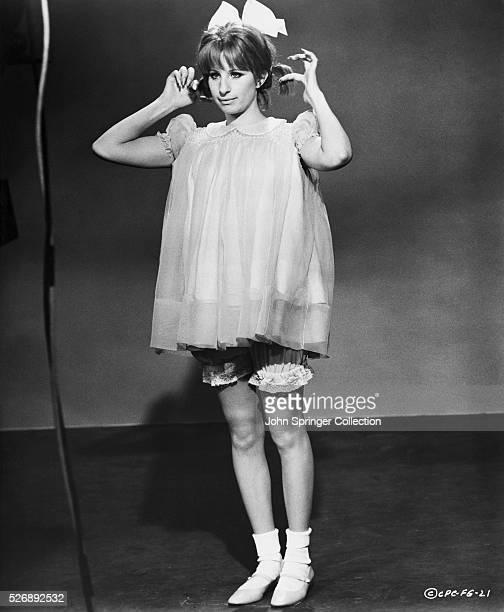 Barbra Streisand in Costume from Funny Girl