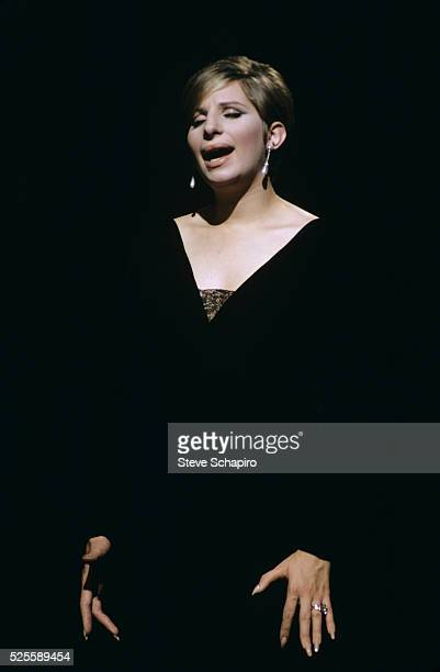 Barbra Streisand in the stage production of Funny Girl