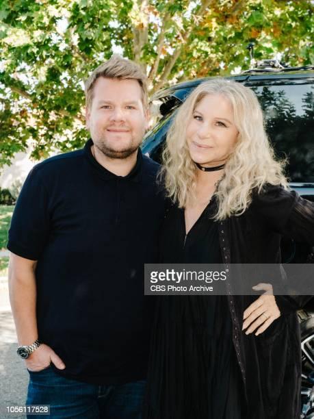 Barbra Streisand joins James Corden for Carpool Karaoke on The Late Late Show with James Corden airing Thursday November 1st 2018