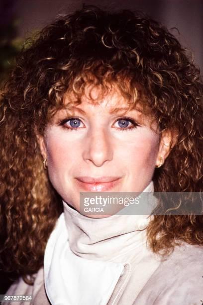 Barbra Streisand le 20 mrs 1984 à Paris France