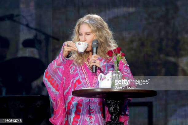 Barbra Streisand performs during Barclaycard Presents British Summer Time Hyde Park at Hyde Park on July 07 2019 in London England
