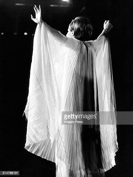 Barbra Streisand performs live for the filming of A Happening in Central Park at Central Park circa June 1967 in New York City.