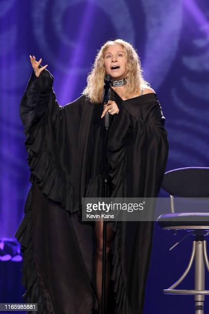 Barbra Streisand performs onstage at Madison Square Garden on August 03 2019 in New York City