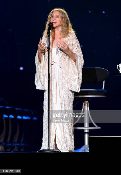 Barbra Streisand performs onstage at United Center on August 06, 2019 in Chicago, Illinois.