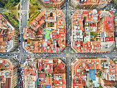 Barcelona aerial photo