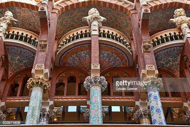 Barcelona, Architectural Sculpture Decorating Palau de la Musica