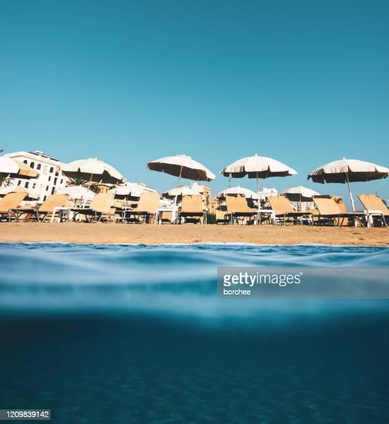 barcelona beach - la barceloneta stock pictures, royalty-free photos & images
