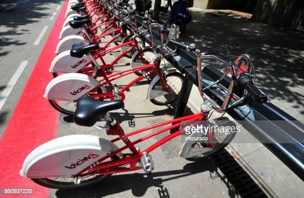 """Barcelona - """"Bicing"""" Fahrrad-sharing-system"""