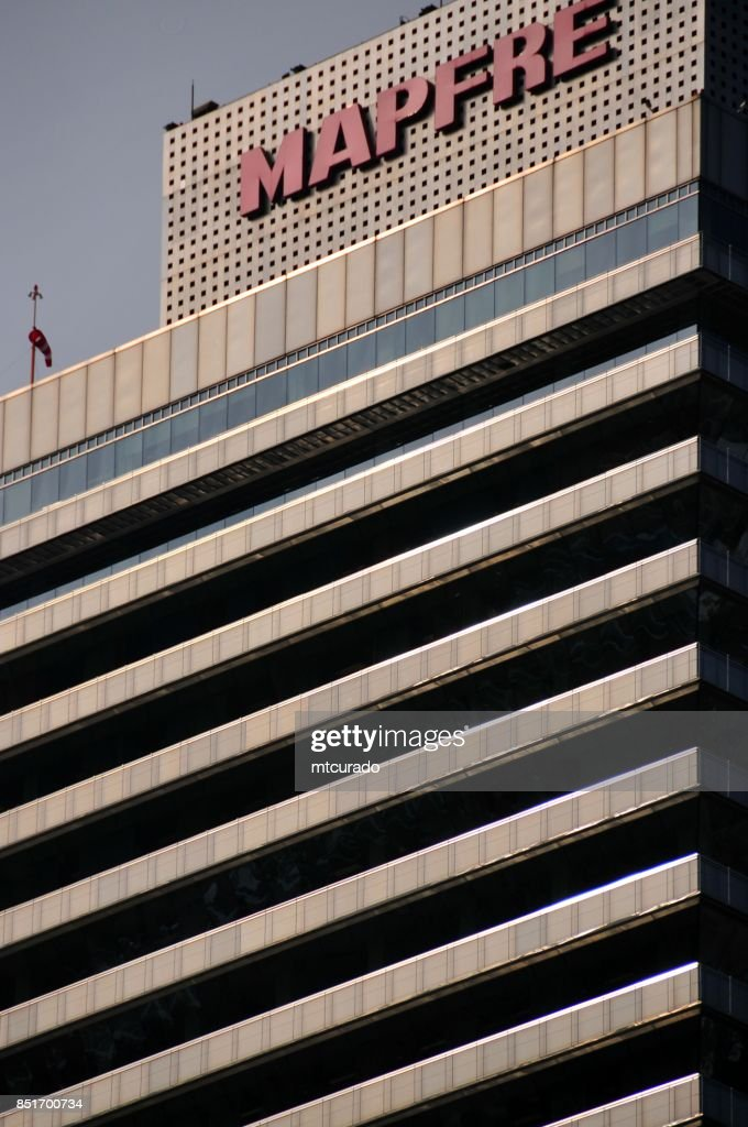 Barcelona, Catalonia: Mapfre tower : Stock Photo