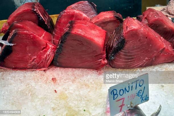 barcelona. catalonia. spain. the mercat de sant josep de la boqueria - marco brivio stock pictures, royalty-free photos & images
