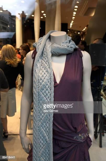 Barcelona Catalonia Spain Woman shop window