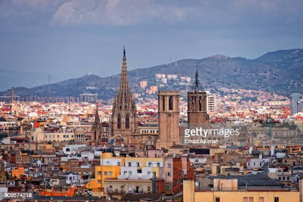 Barcelona Cathedral, Barcelona, Spain - October 28, 2014