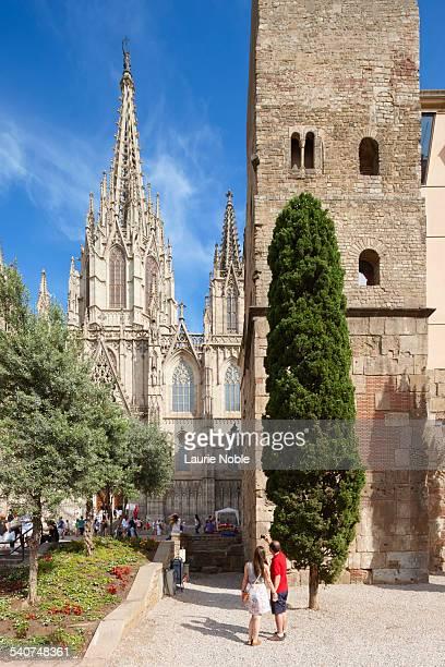 Barcelona Cathedral, Barri Gotic, Barcelona, Spain
