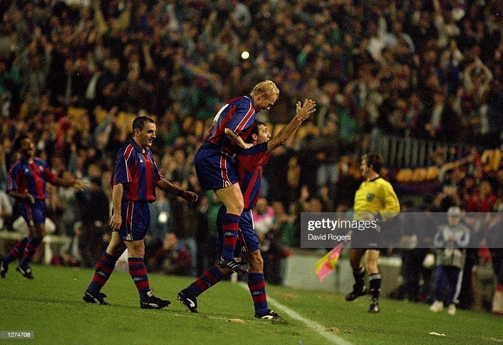 Barcelona celebrate : News Photo