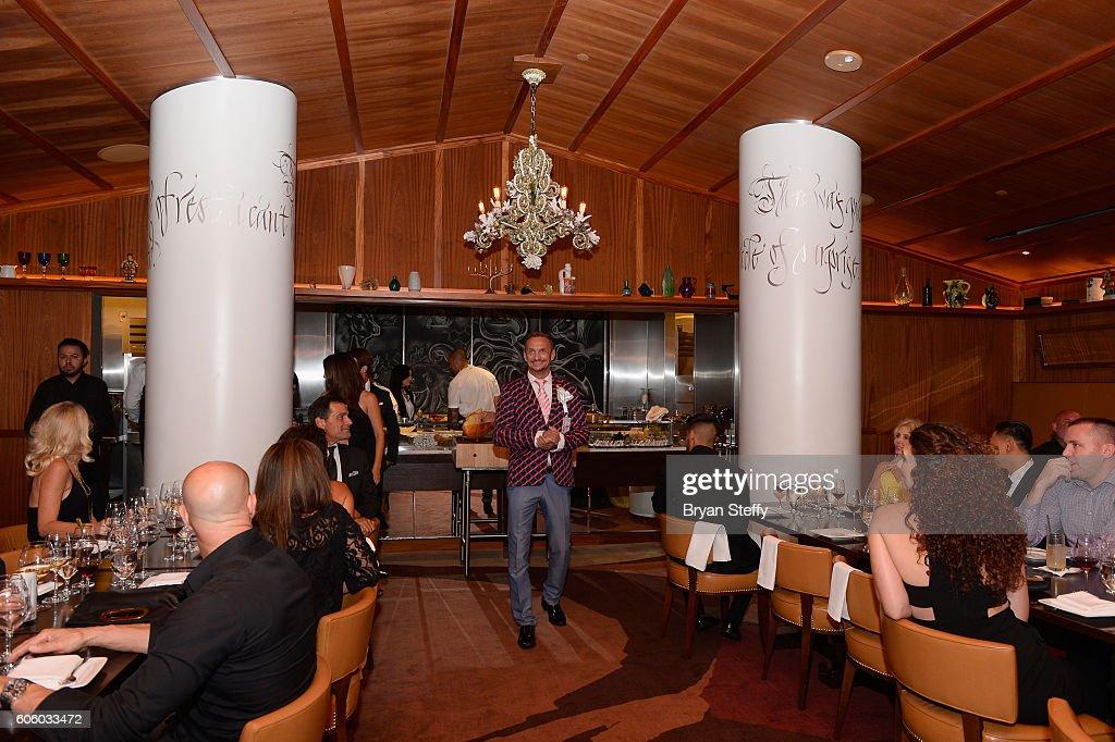 Barcelona Executive Vice President Boe Trumbull speaks during the Las Vegas Food & Wine Festival at Bazaar Meat at SLS Las Vegas Hotel on September 15, 2016 in Las Vegas, Nevada.