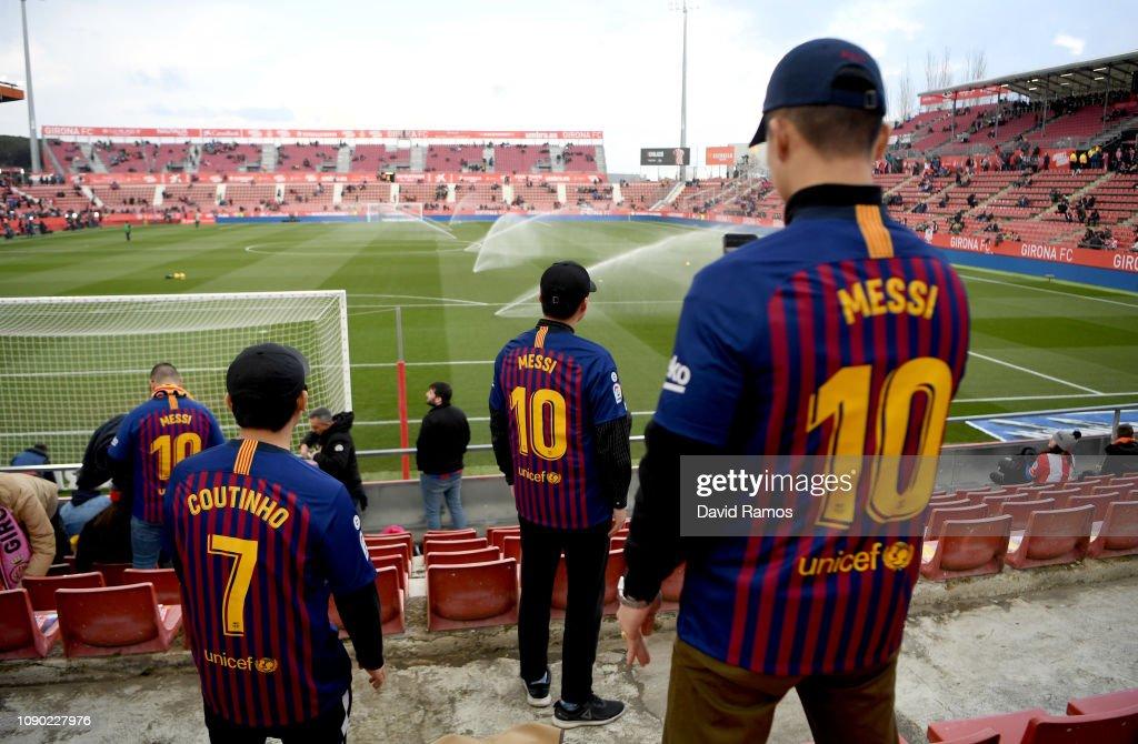 Girona FC v FC Barcelona - La Liga : News Photo
