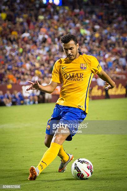 Barcelona FC player Pedro during the Soccer 2015 Guinness International Champions Cup Match between Chelsea FC vs Barcelona FC on July 28 2015 at Fed...