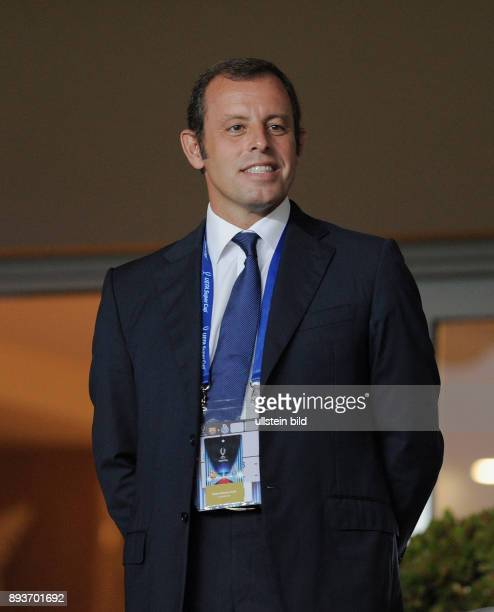 FUSSBALL UEFA FC Barcelona FC Porto Praesident Sandro Rosell