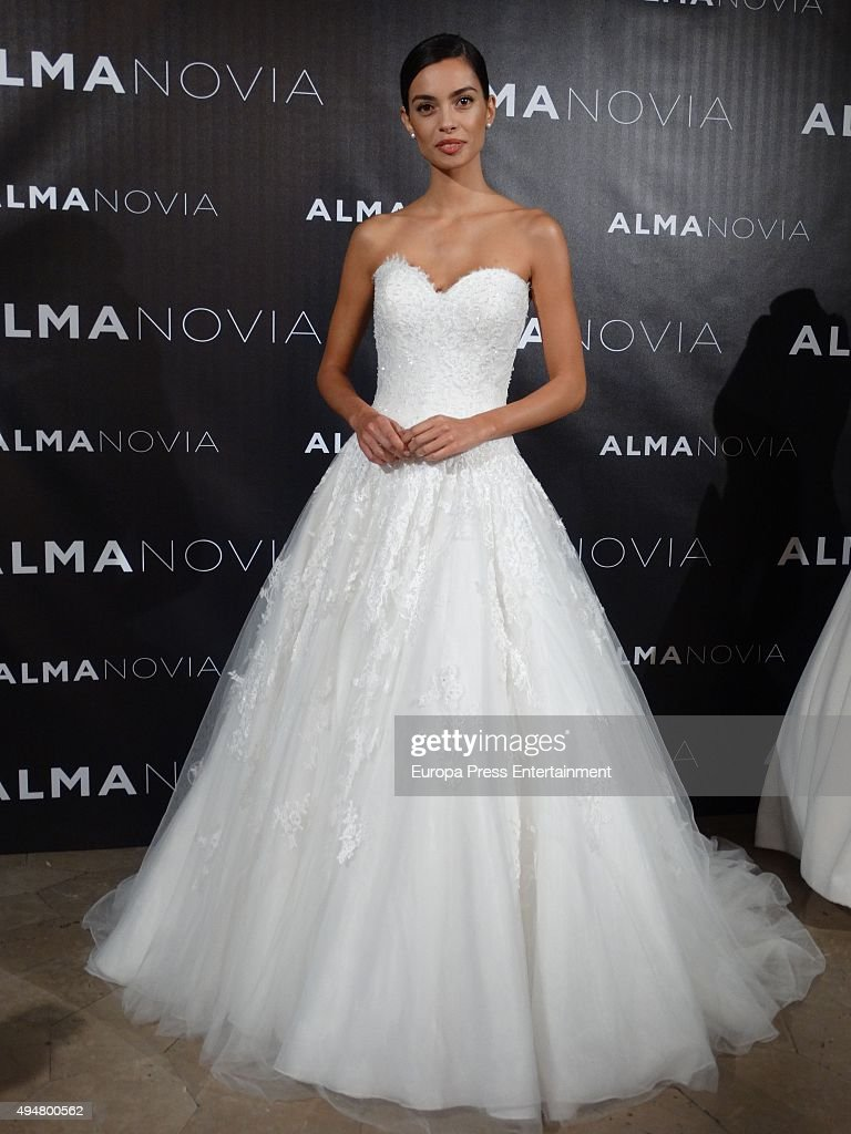 Barcelona Football Player Dani Alves S Friend Joana Sanz Presents The New Wedding Dress Collection By Alma