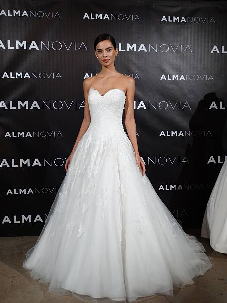 Barcelona Football Player Dani Alves S Friend Joana Sanz Presents The New Wedding Dress Collection By Alma