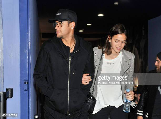Barcelona football player Neymar and his girlfriend Bruna Marquezine attend a Special Screening of Paramount Pictures' 'xXx Return of Xander Cage'...