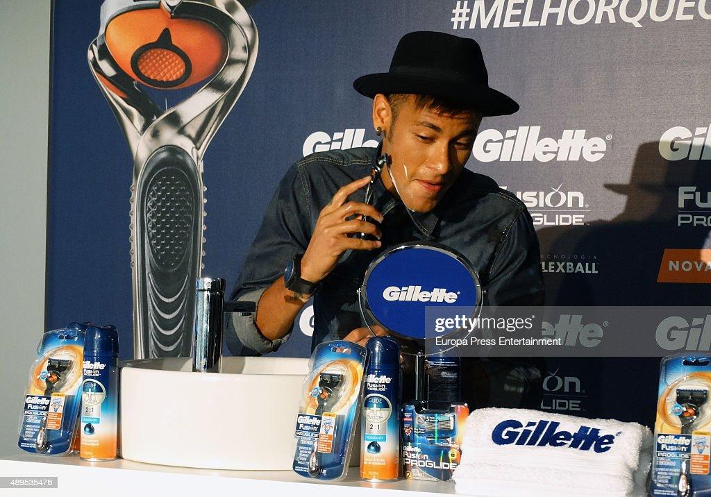 Neymar New Ambassador For Gillette in Latin America : News Photo