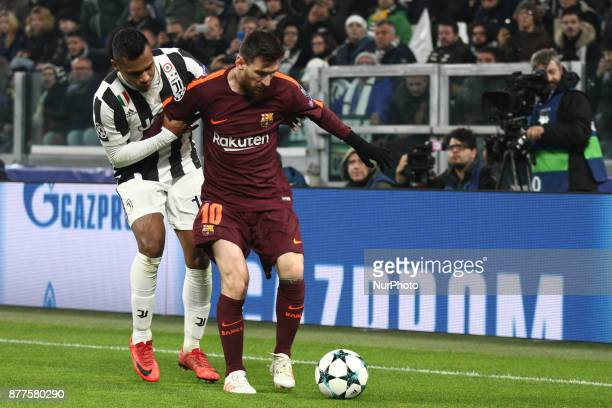 Barcelona forward Lionel Messi in action during the Uefa Champions League group stage football match n5 JUVENTUS BARCELONA on at the Allianz Stadium...
