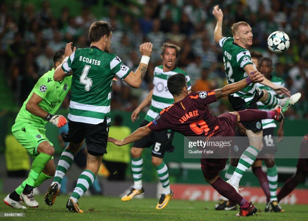 Sporting CP v FC Barcelona - UEFA Champions League : News Photo