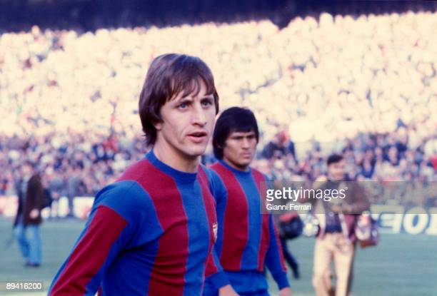 FC Barcelona in 1977 Johan Cruyff soccer player