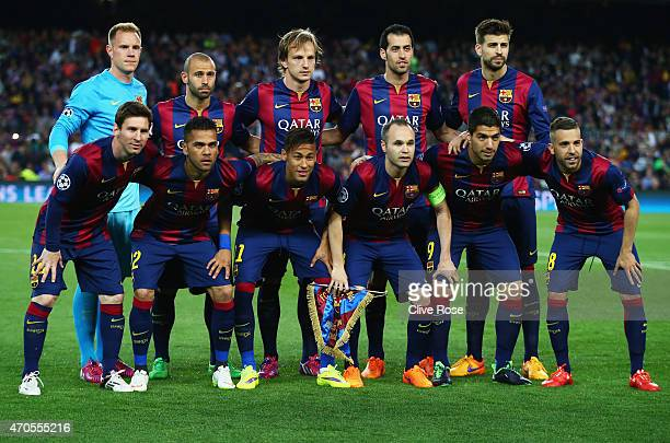 243 Barcelona 2015 Line Up Photos And Premium High Res Pictures Getty Images