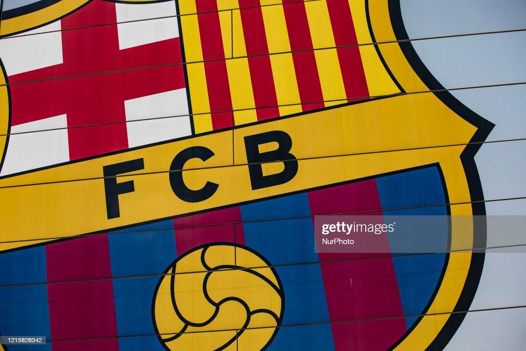 Barcelona Football Team Stadium : News Photo