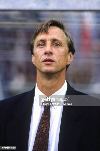 Barcelona Manager Johan Cruyff