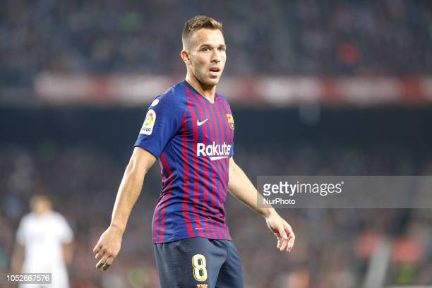 FC Barcelona midfielder Arthur during the match FC Barcelona against Sevilla FC for the round 9 of the Liga Santander played at Camp Nou on 20th...