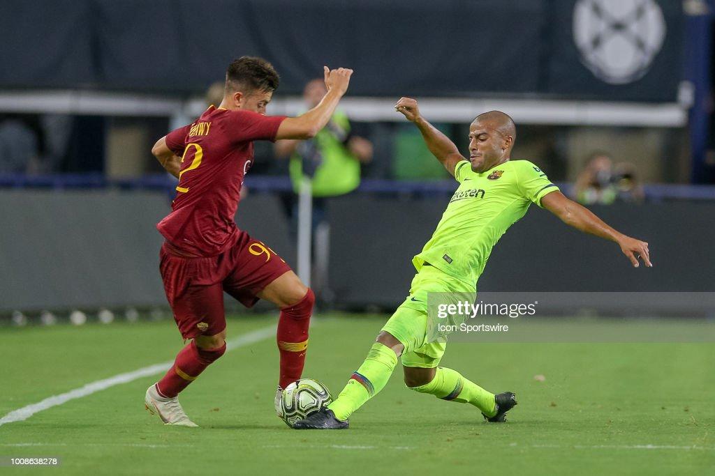 SOCCER: JUL 31 International Champions Cup - FC Barcelona  v AS Roma : ニュース写真