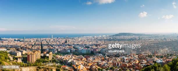 Barcelona Panoramic Image