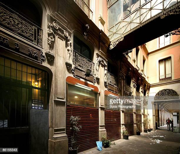 Barcelona, Pasatge du Bacardi