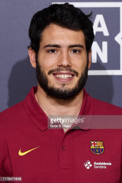 Barcelona player Alex Abrines during the presentation of Euroleague 2019/2019 for DAZN on September 18, 2019 in Madrid, Spain.
