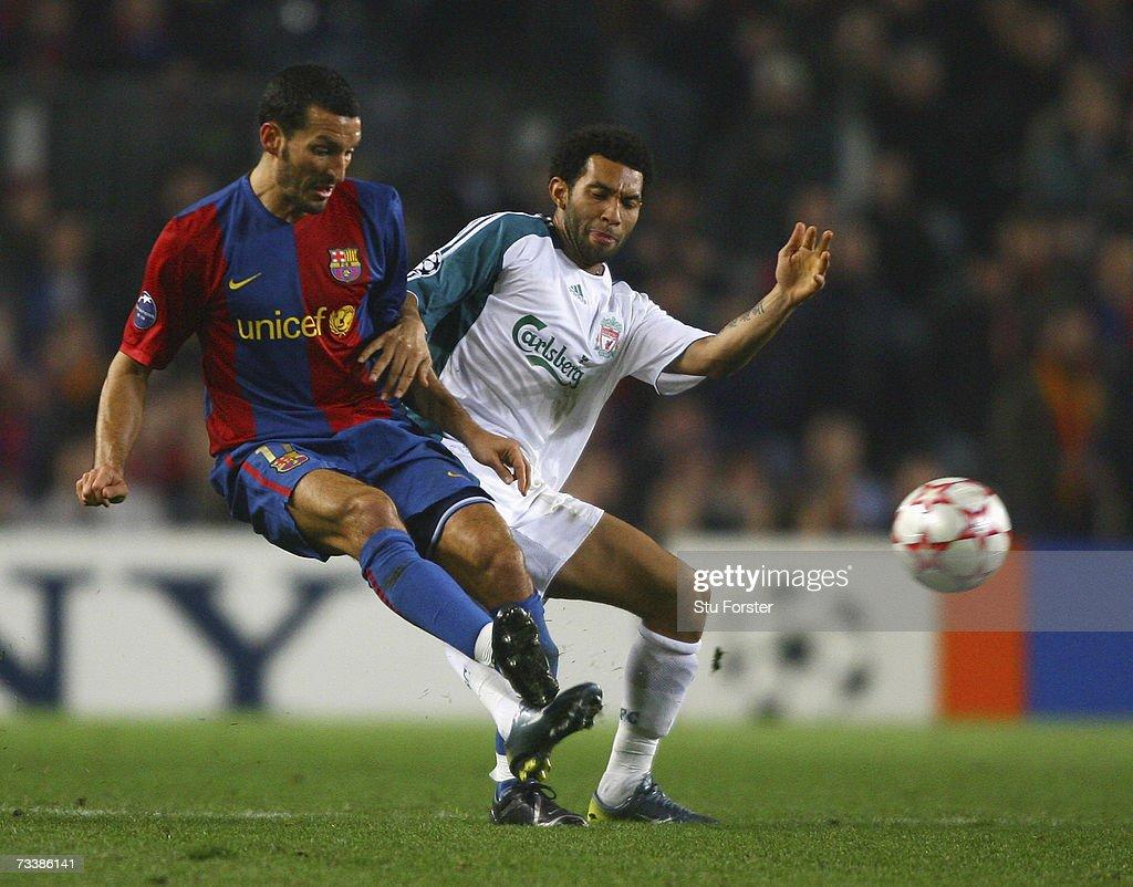 UEFA Champions League: Barcelona v Liverpool : News Photo