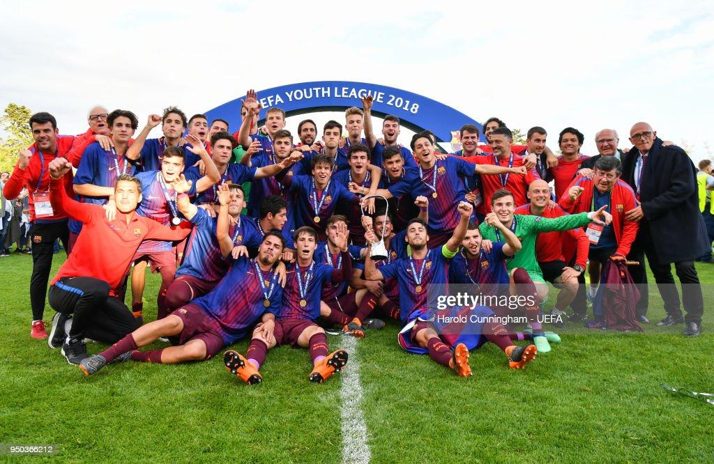 Chelsea FC v FC Barcelona - UEFA Youth League Final