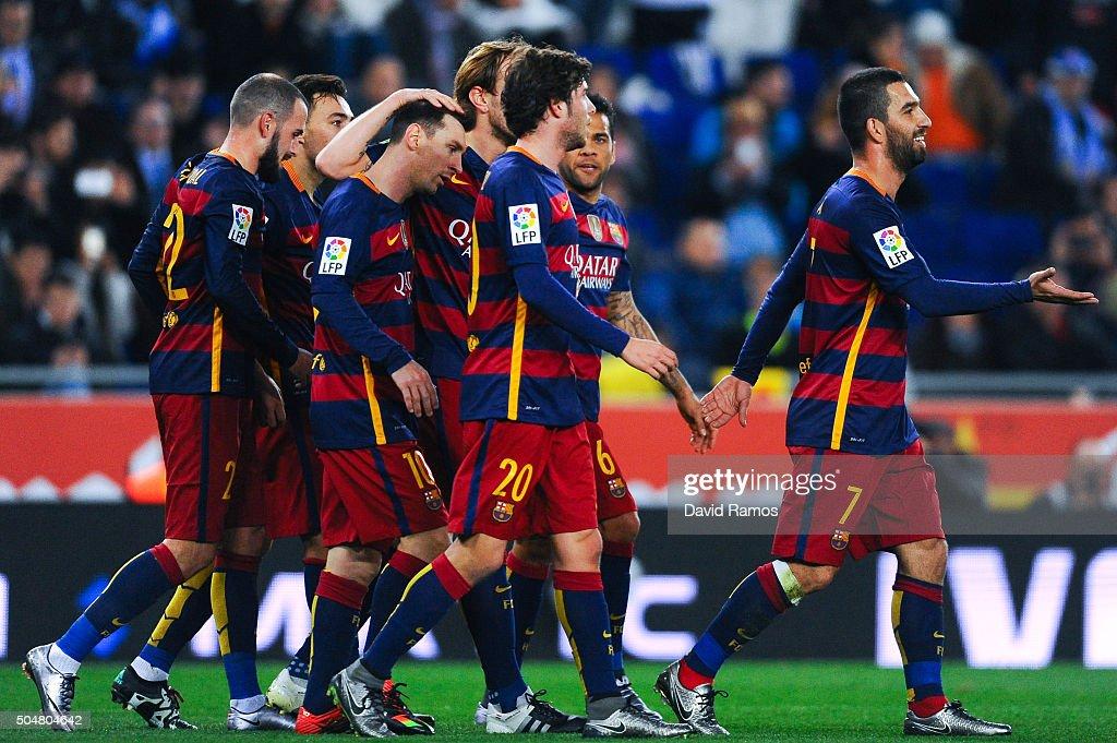 Real CD Espanyol v FC Barcelona - Copa del Rey : News Photo