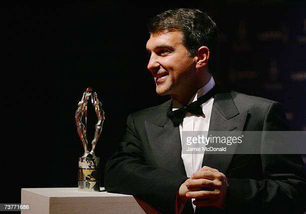 Barcelona President Joan Laporta attends the Laureus Sports Awards at the Palau Sant Jordi on April 2 2007 in Barcelona Spain